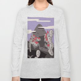 Mexican village Long Sleeve T-shirt