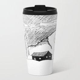 NIGHT GUEST Metal Travel Mug