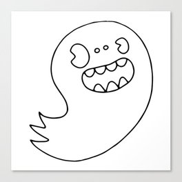 Ghost Boy Canvas Print