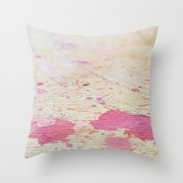 Looking for a New Home Throw Pillow
