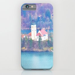 Bled Castle Slovenia iPhone Case