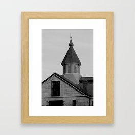 Old Salem Jail Framed Art Print