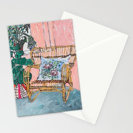 Cane Chair After David Hockney Stationery Cards