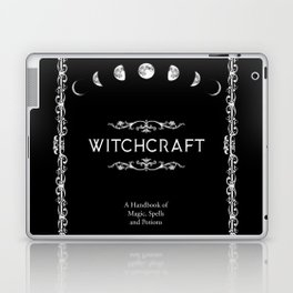 Witchcraft A Handbook of Magic Spells and Potions Laptop & iPad Skin