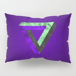 The infinity triangle inverted Pillow Sham