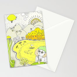 Lemon paradise Stationery Cards
