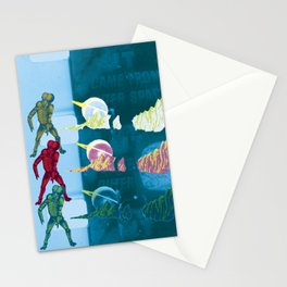 Silver Elvis of the Moon no. 2 Stationery Cards