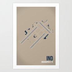 IND Art Print