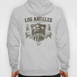 Los Angeles california clothing and more brown Hoody