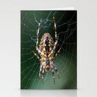 spider Stationery Cards featuring Spider by Dora Birgis