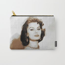 Sophia Loren, Actress Carry-All Pouch