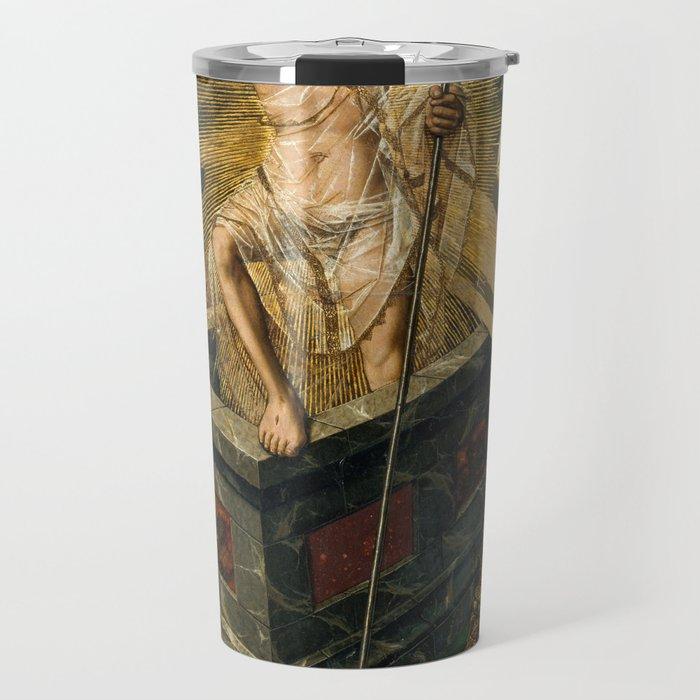 Resurrection by Bartolome Bermego, 1475 Travel Mug