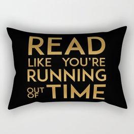 Hamilton Reads Rectangular Pillow