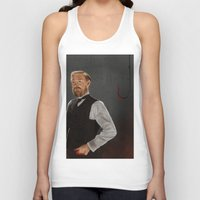 moriarty Tank Tops featuring Moriarty lives by San Fernandez