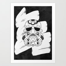 Storm Trooper #3 Art Print
