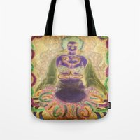 alien Tote Bags featuring Alien by CLE.ArT.