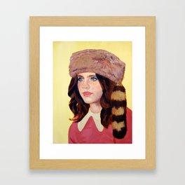 Suzy Has a Plan Framed Art Print