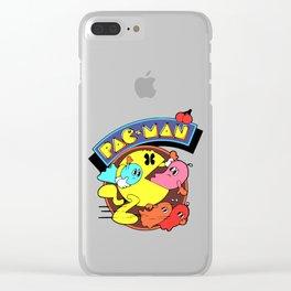 Pac-Man Clear iPhone Case