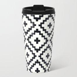 geometric diamond pattern Travel Mug