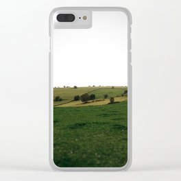 Derbyshire landscape Clear iPhone Case