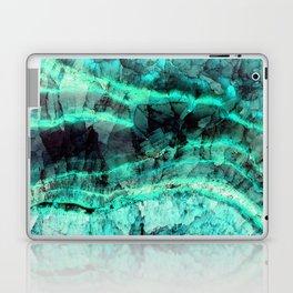 Turquoise onyx marble Laptop & iPad Skin