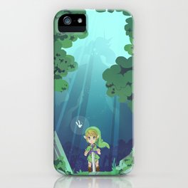 Master Sword and Monsters iPhone Case