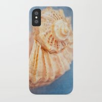 seashell iPhone & iPod Cases featuring Seashell by The Last Sparrow