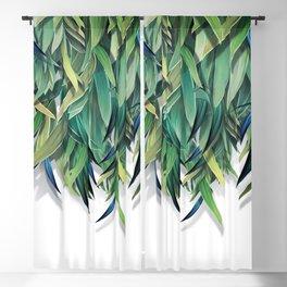 """Spring Forest of Surreal Leaf"" Blackout Curtain"