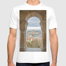 Fisherman's Bastion Budapest Hungary view T-shirt