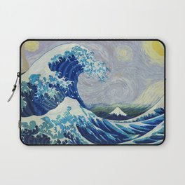The Starry Night Wave Laptop Sleeve