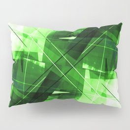 Elemental - Geometric Abstract Art Pillow Sham