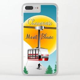 Mont Blanc Chamonix Clear iPhone Case