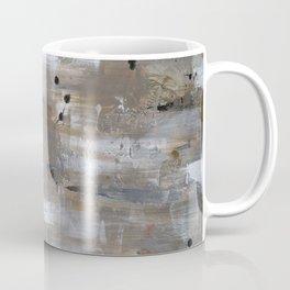 Silver and Gold Abstract Coffee Mug