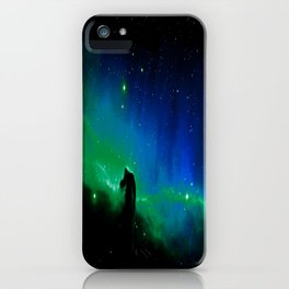 Horsehead nEBula. Blue & Green iPhone Case