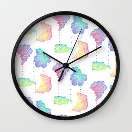 Ice Cream Shells Wall Clock