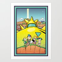 earthbound Art Prints featuring We Are Earthbound by TavisMaiden