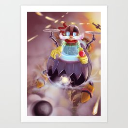 Murdock Flying War Art Print