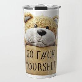 Go F#ck yourself with Travel Mug