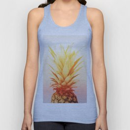 Pineapple#exposure#film#effect Unisex Tank Top