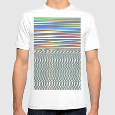 Signal White MEDIUM Mens Fitted Tee