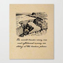 A Farewell to Arms - Hemingway Canvas Print