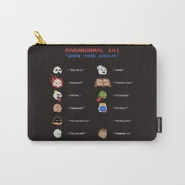 Paranormal 101 Carry-All Pouch