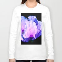 poppy Long Sleeve T-shirts featuring Poppy by CrismanArt