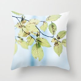bight summer laves Throw Pillow