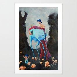 Koza Art Print