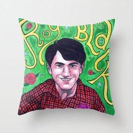 Das Ist Roy Black Throw Pillow