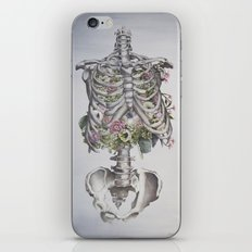 Floral Anatomy Skeleton iPhone Skin