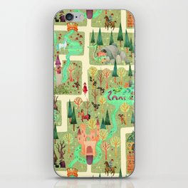 The Enchanted Forest  iPhone Skin