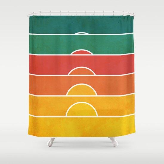 No regrets Shower Curtain
