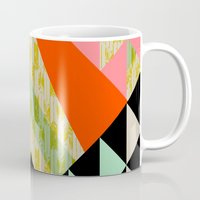 quilt Mugs featuring Arrow Quilt by Pattern State